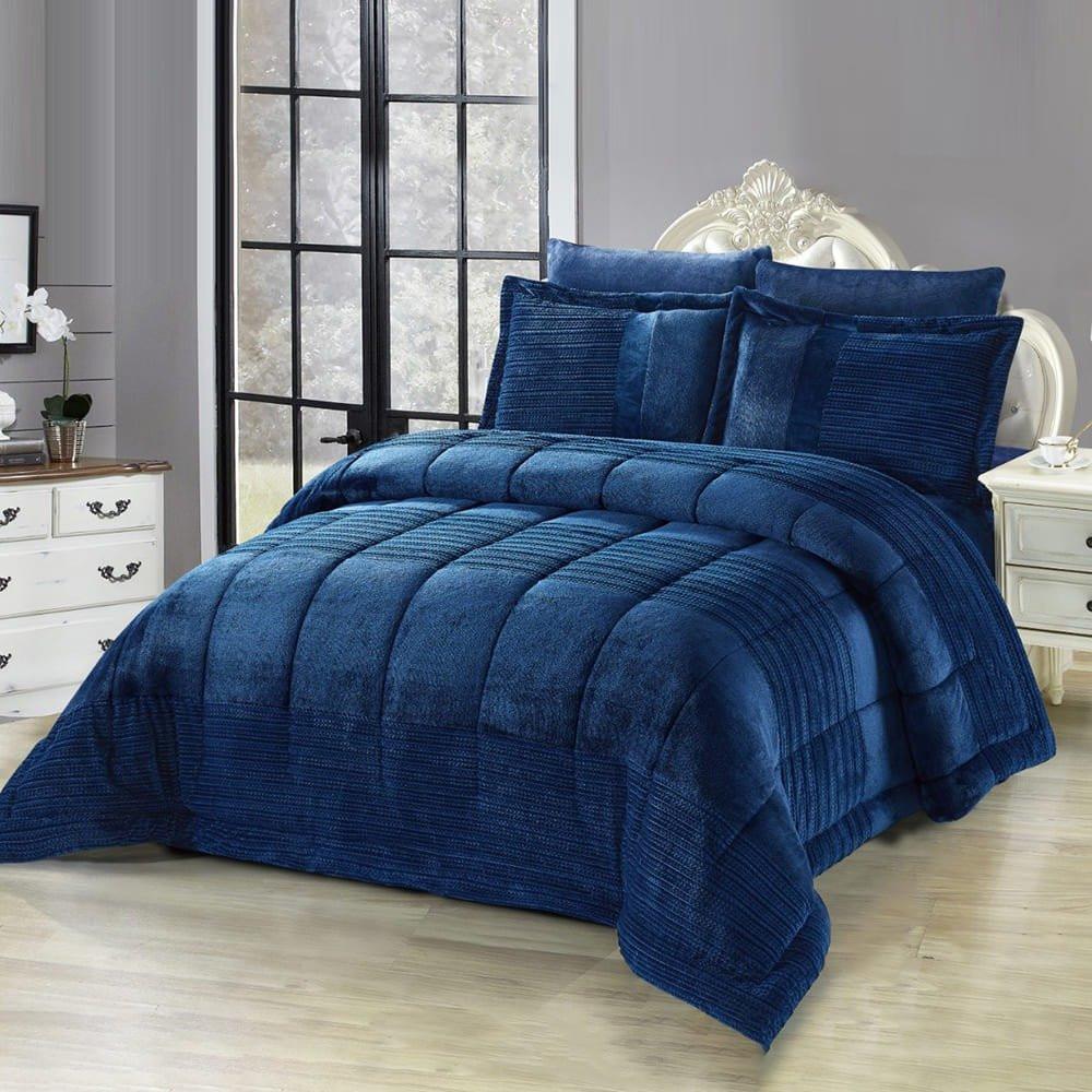 مفرش سرير شتوي نفر ونص - متجر مفارش ميلين