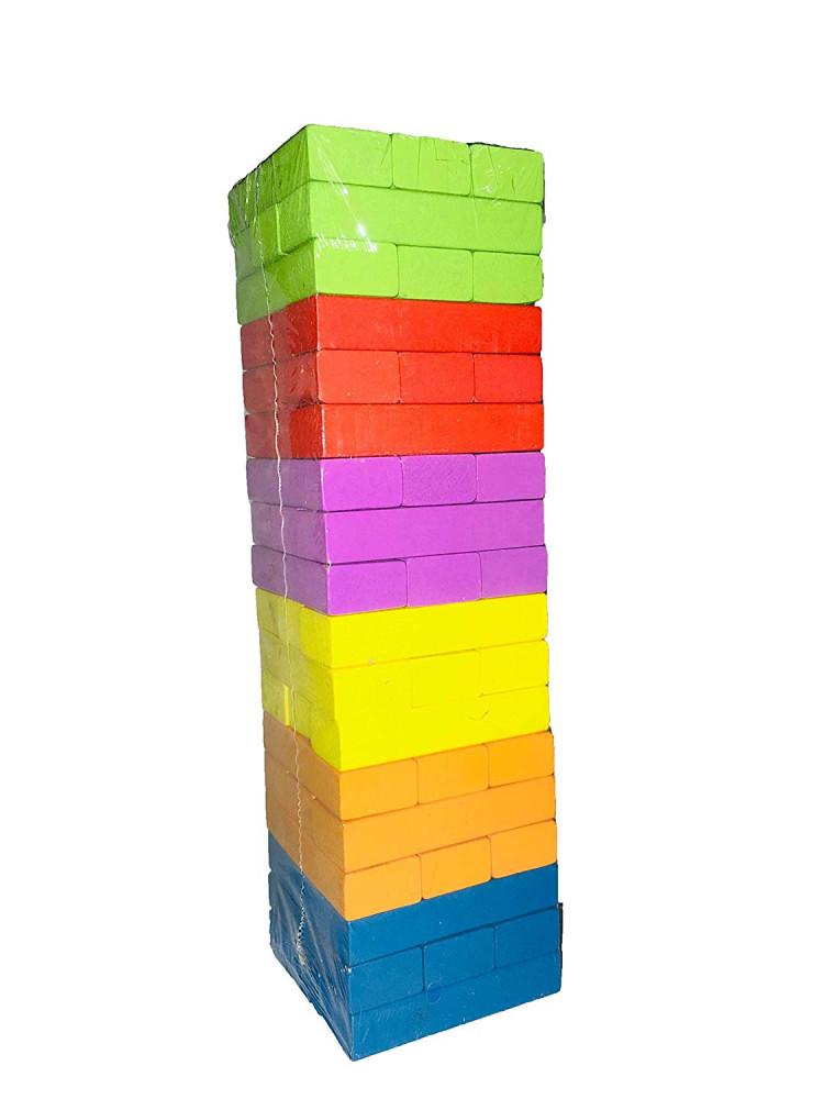 العاب اطفال ابداعية العاب ادراكية العاب تركيب بناء هدم جنجا جينجا مكعب