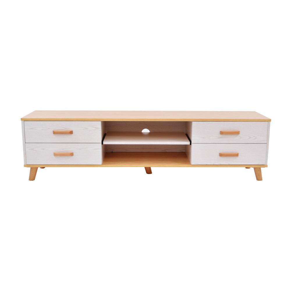 طاولة تلفزيون خشبي 160 سم C-TV-103-160 BEIGE من كاما