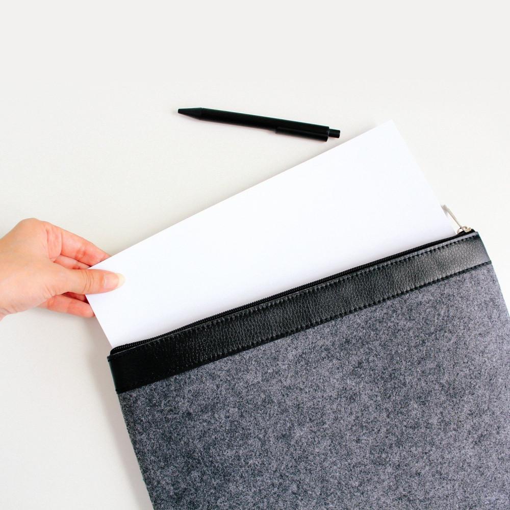 ملف أوراق ملفات ملف حفظ اوراق A4 كفر حماية ايباد حقيبة لابتوب متجر