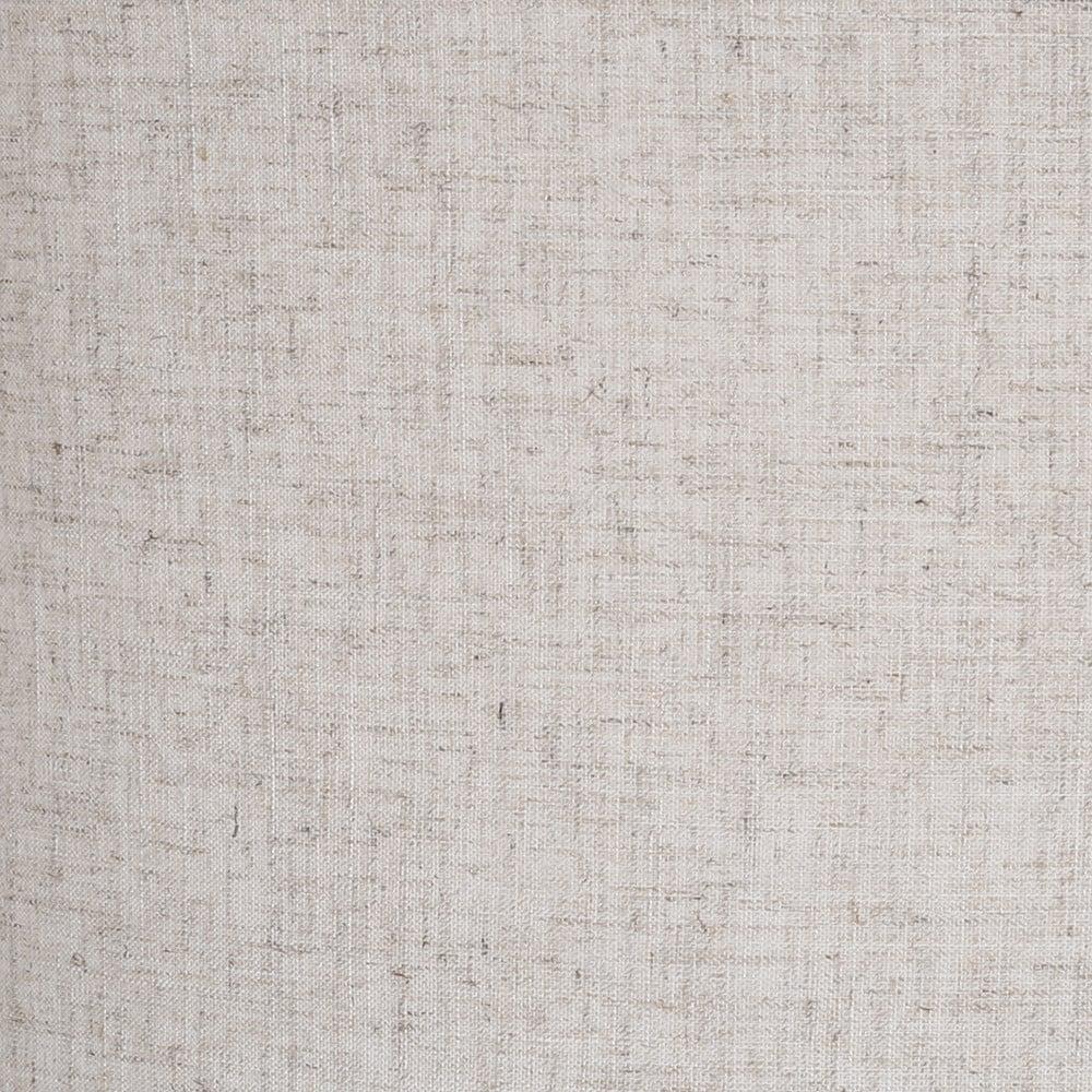 متجر مواسم قماش الكتان الذي يغطي أباجورة أرضية سيمبل بقاعدة خشبية