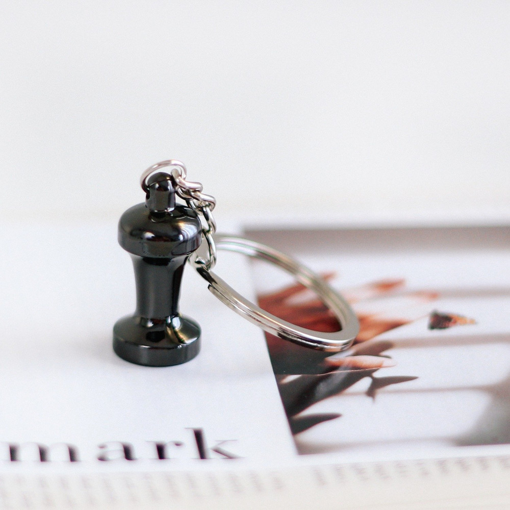 ميدالية مفاتيح لعشاق الاسبرسو ميداليات أدوات القهوة هدية رجالية نسائية