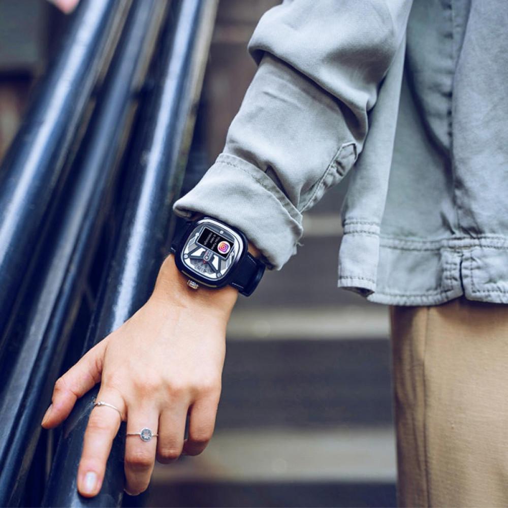 الساعة الذكية بإمكانية حساب معدل ضغط الدم للجنسين