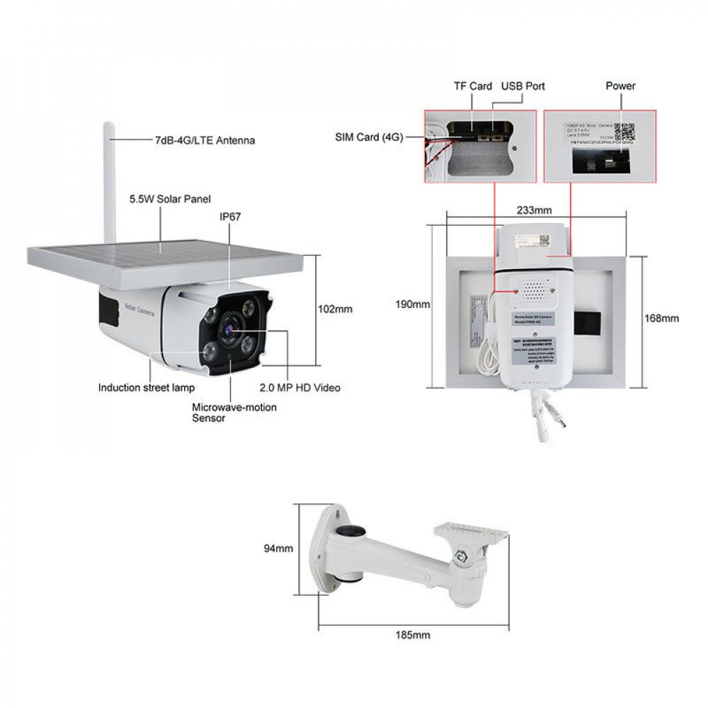 كاميرا لاسلكية 4G LTE
