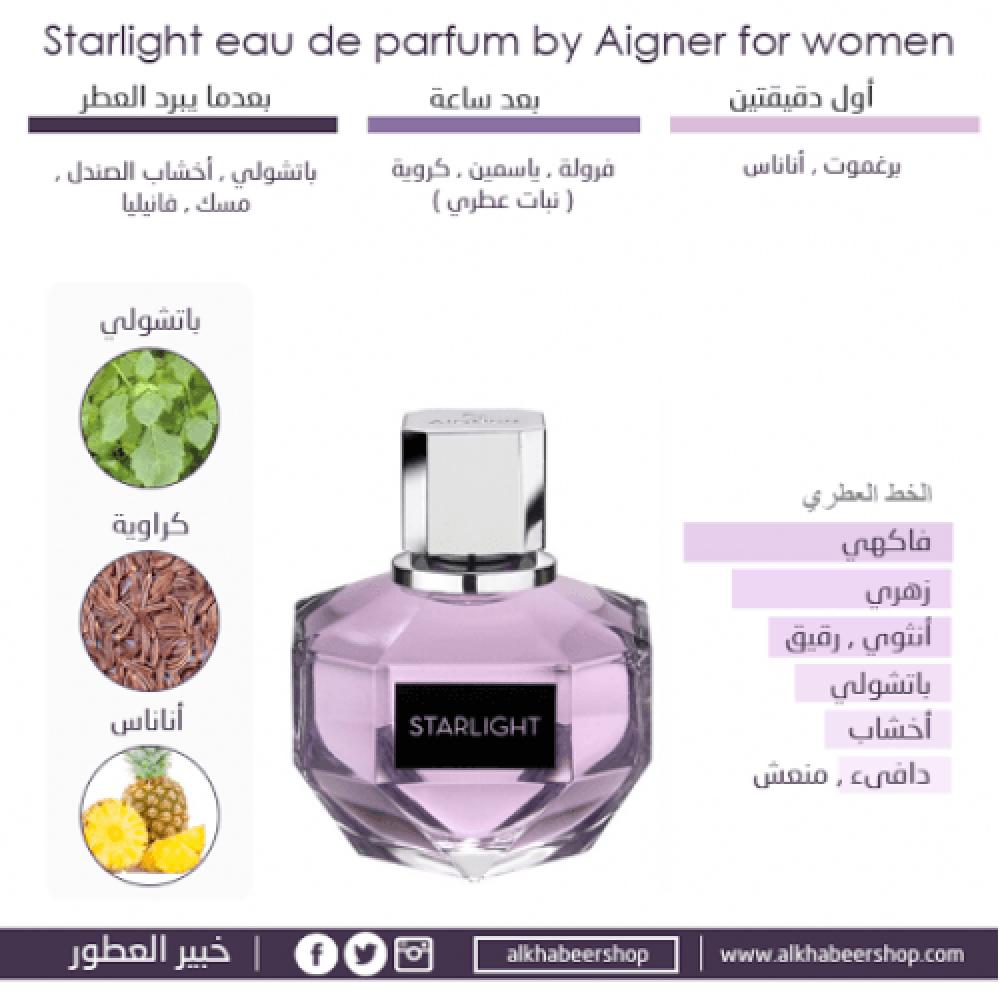 Aigner Starlight Eau de Parfum Sample 1-5ml خبير العطور