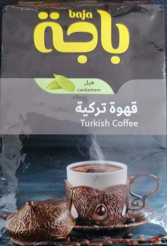 قهوة تركية مع الهيل من باجة 200g لمار للحلويات