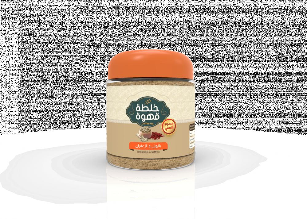 قهوة عربية خلطة الهيل والزعفران Tootaat