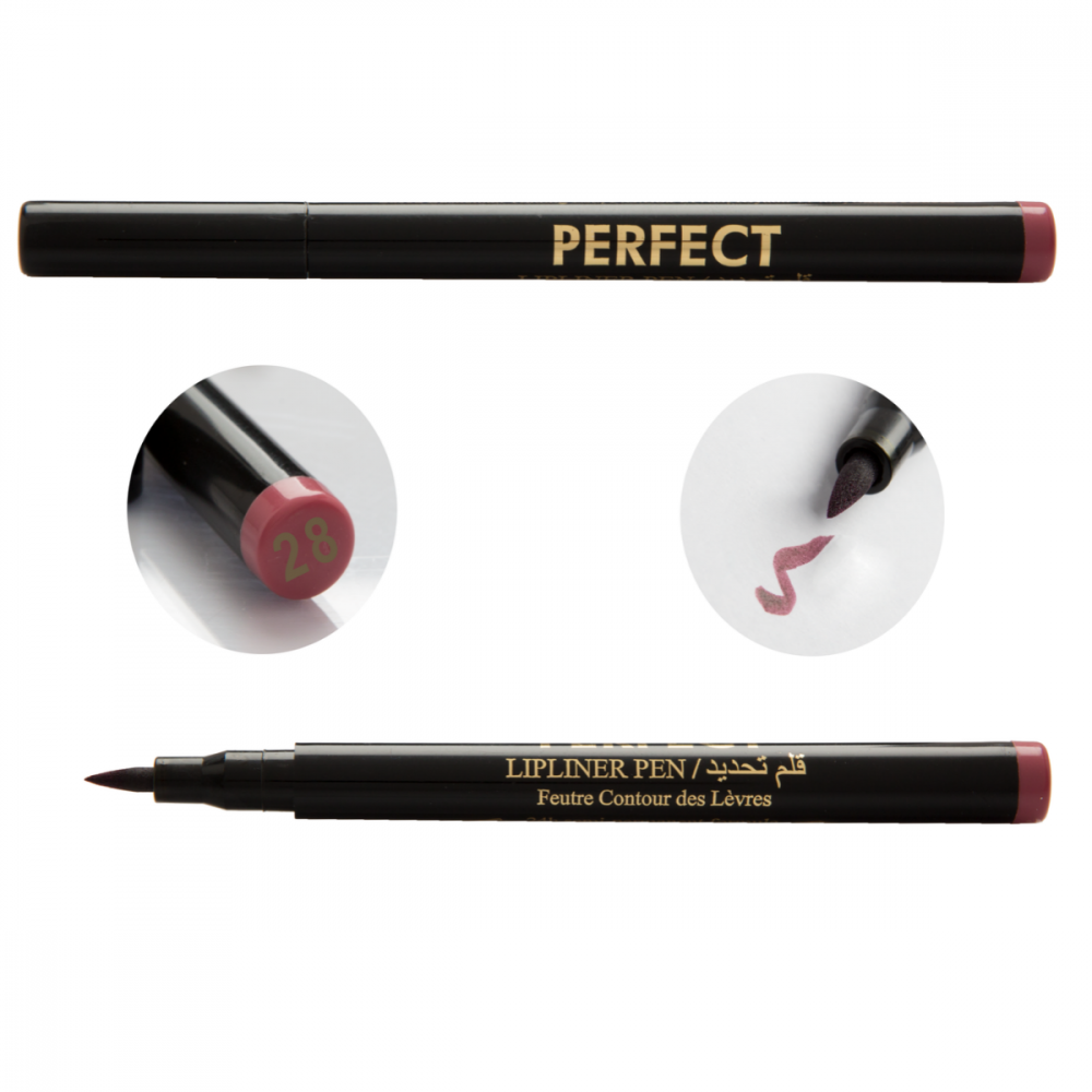 28-PERFECT Lip Liner Liquid Pen