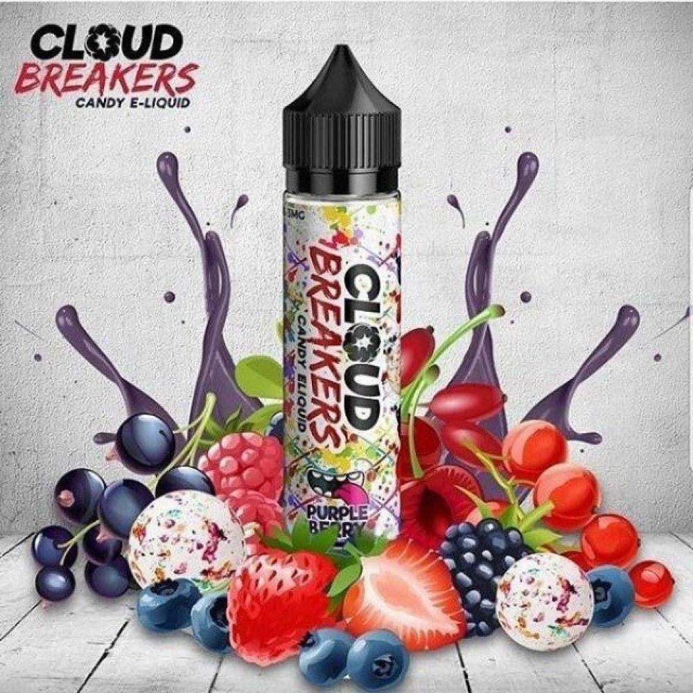 نكهة كلاود بريكرز بربل بيري -عنب توت فراولة - Cloud Breakers Purple Be