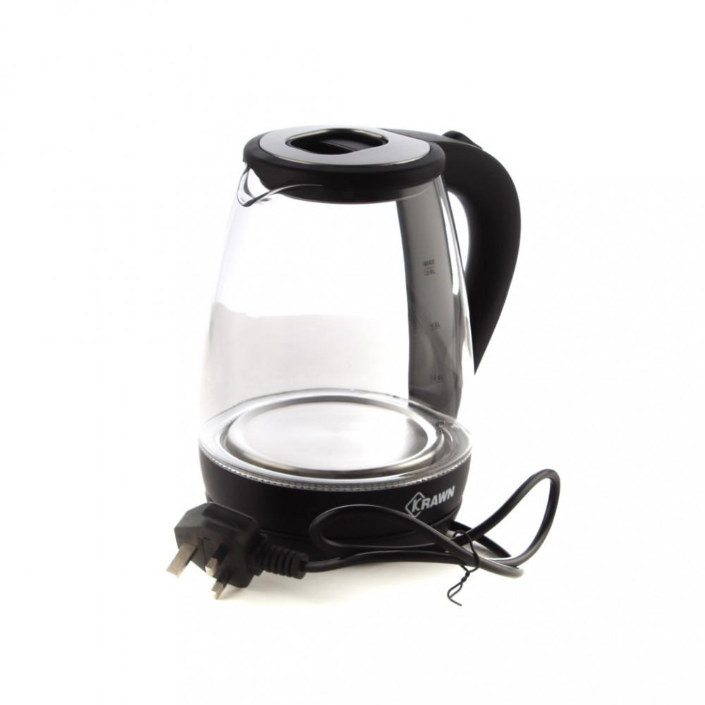 غلاية ماء زجاج 2 لتر