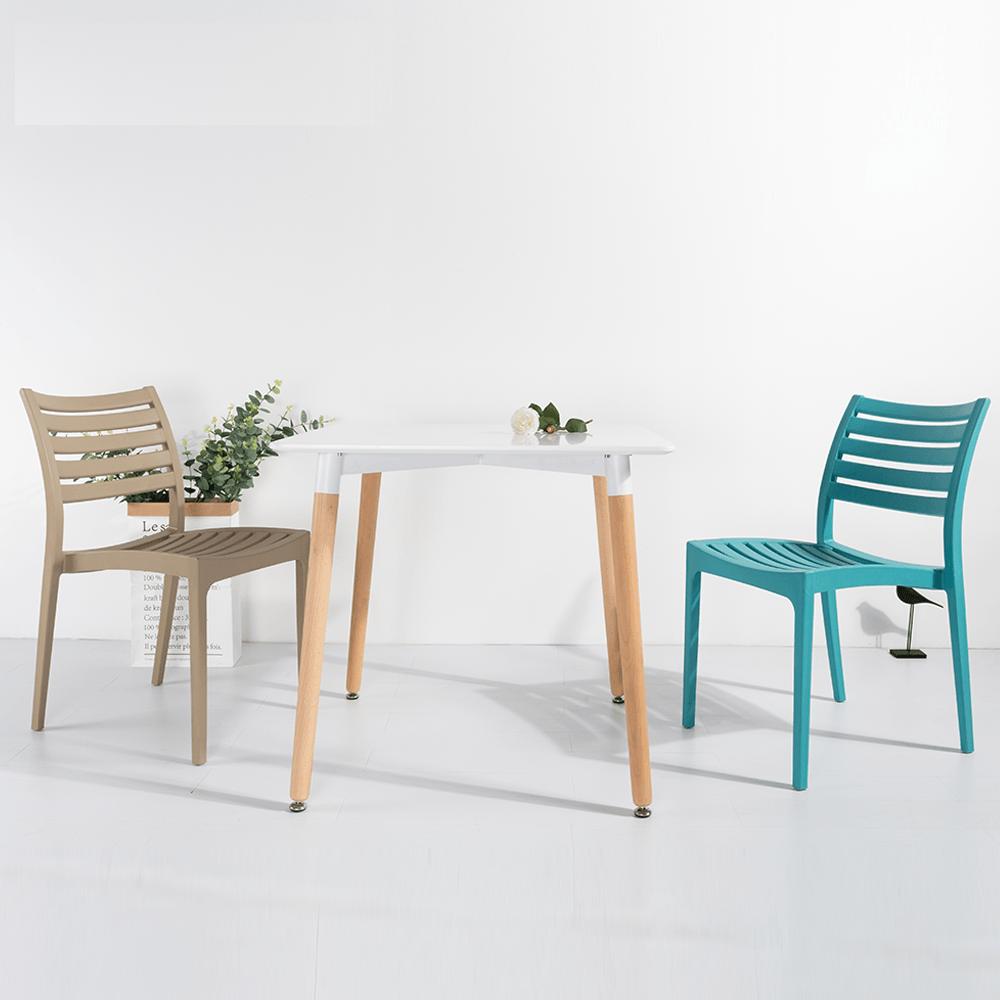 مواسم طاولة نيت هوم بيضاء مصنوعة من خشب الزان القوي  المتحمل للصدمات