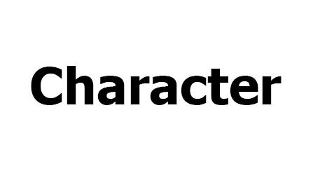 كراكتر CHARACTER