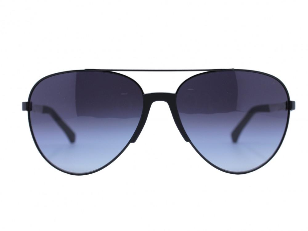 نظاره شمسية بيضاوي من ماركة  EMPORIO- ARMANI  لون العدسة اسود مدرج