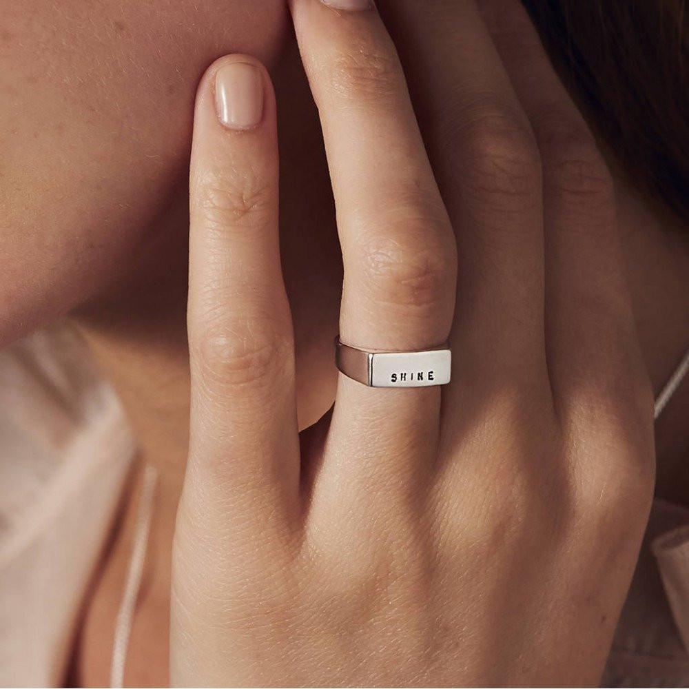 خاتم ملكي نسائي راقي