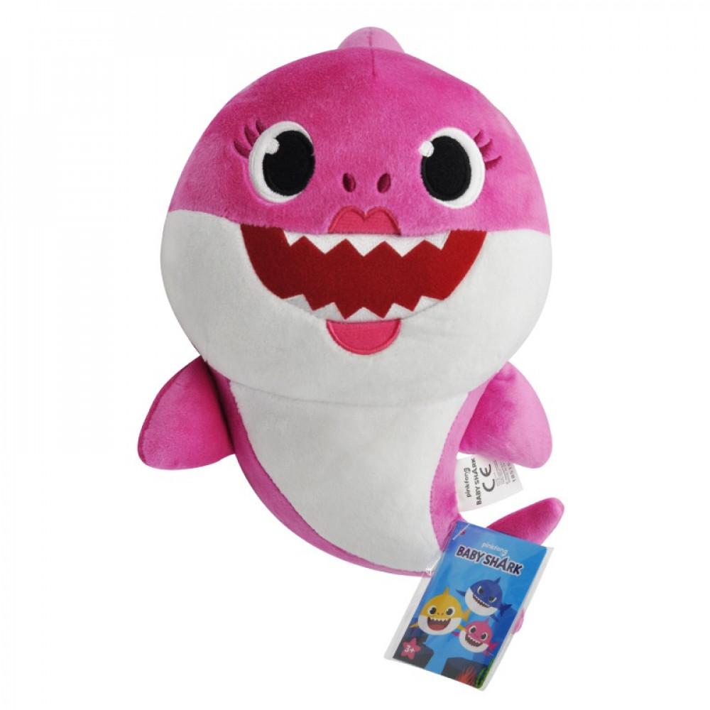بيبي شارك, دمية صوتية مع تحكم, ماما شارك, ألعاب, Pinkfong, Baby Shark