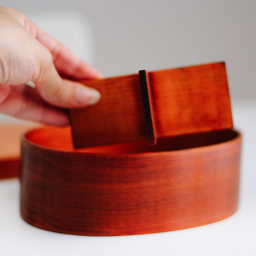 لانش بوكس خشب صندوق بينتو انمي صندوق غداء خشب ياباني حافظة طعام متجر