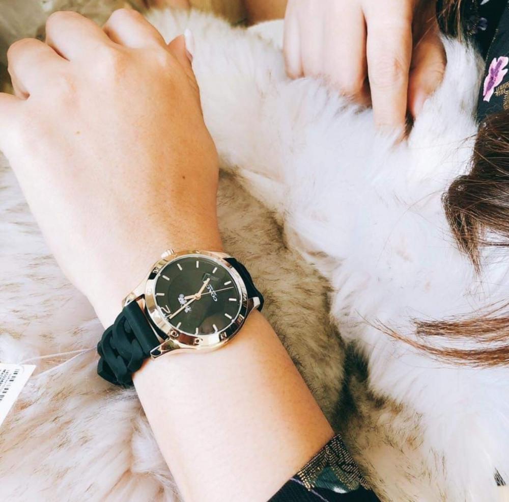 سعر ساعة كوتش لون اسود - متجر كيوت ستور