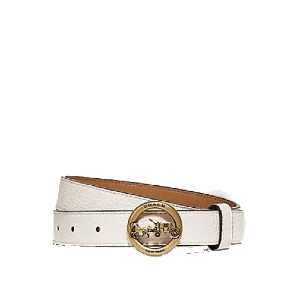 حزام كوتش الأنيق مقاس لارج اوف وايت