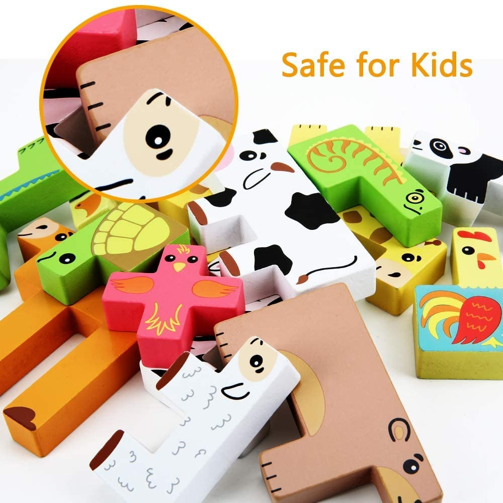 العاب خشبية امنة للاطفال