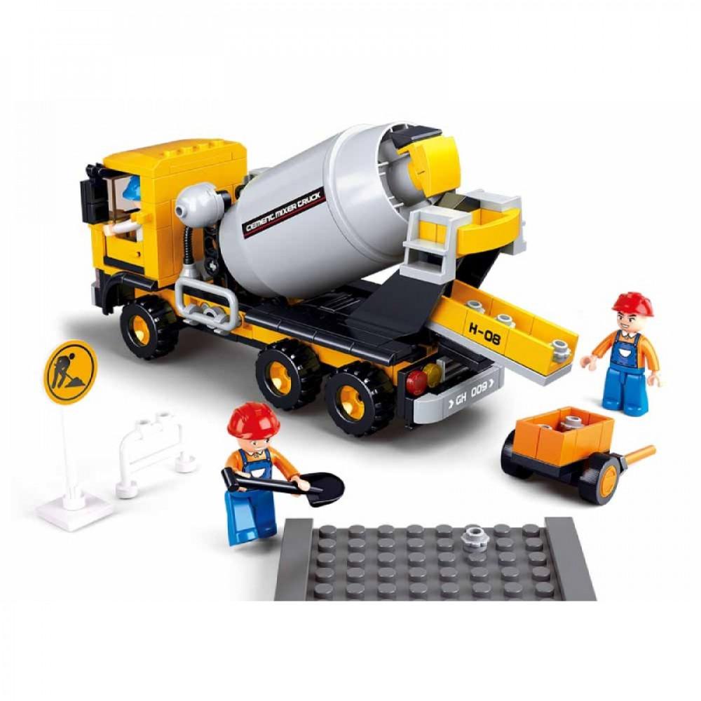 سلوبان, قطع تركيب سيارة قلاب, ألعاب, Toys, Sluban, Town construction