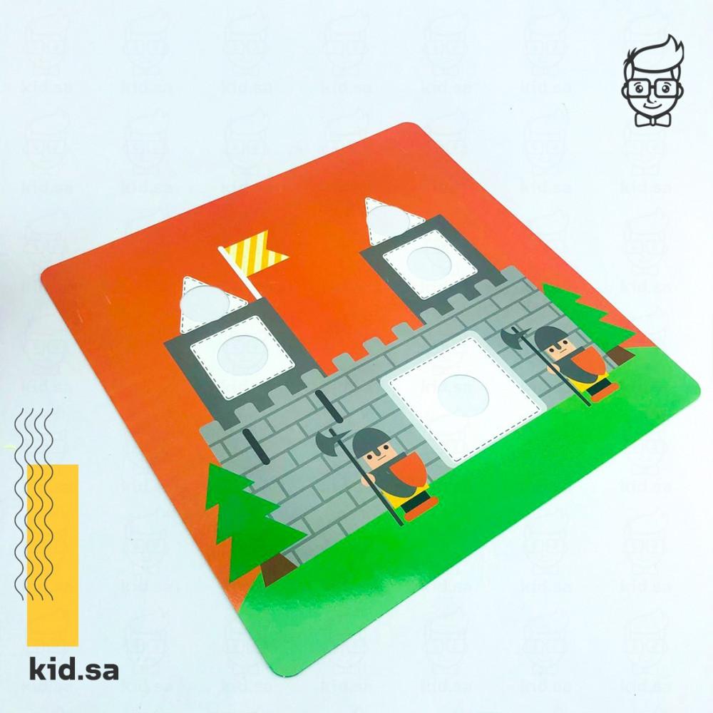 العاب بطاقات تركيب حلوة للاطفال