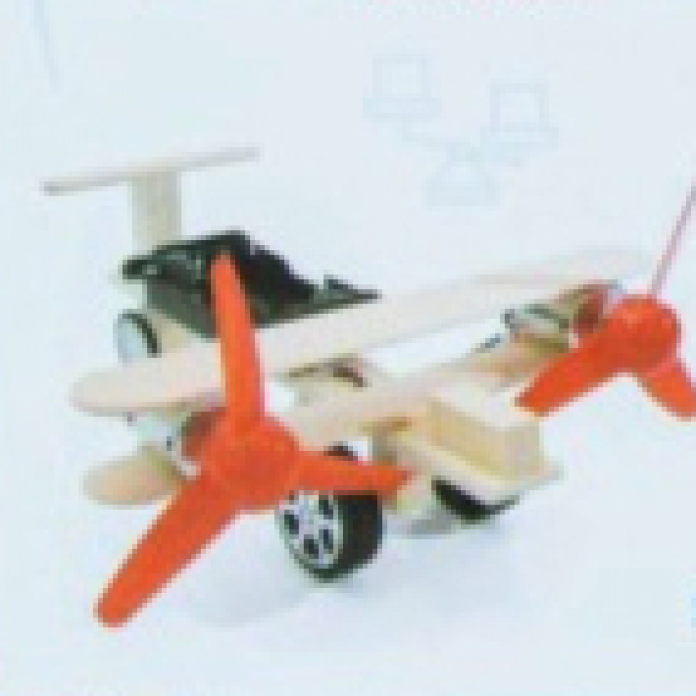 مشروع الكترونيات طيارة بسيطة للاطفال