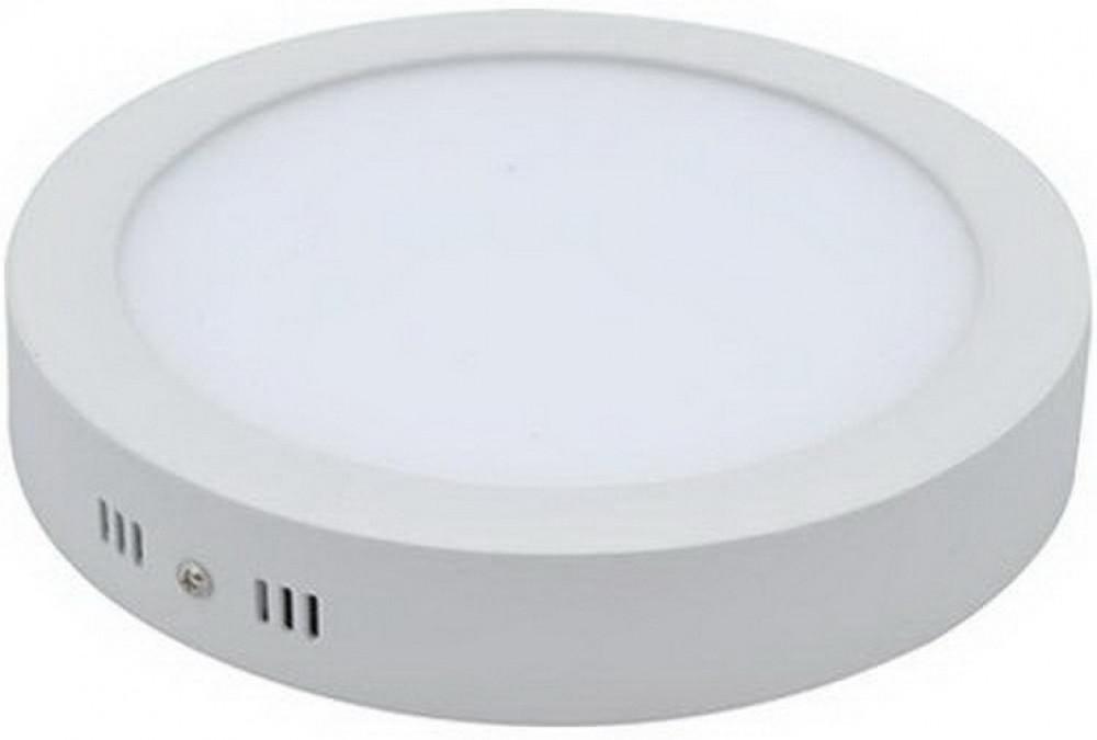 مصباح لد دائري بارز 20 شمعه 220فولت 50-60 سيكل قطر 220مم لون الإضاءة ا