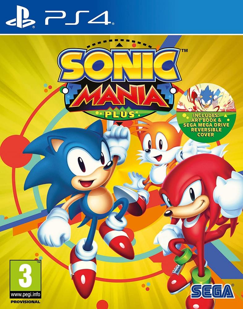 Sonic Mania Plus -PS4