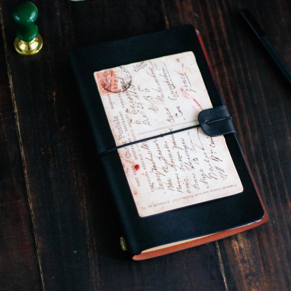 هدية دفتر جلد أجندة أسود دفاتر مدرسية دفاتر فنتج كشكول دفتر هدايا