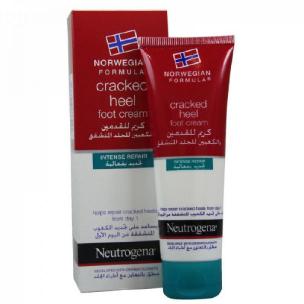 نيتروجينا - كريم القدمين للجلد المتشقق - 50مل