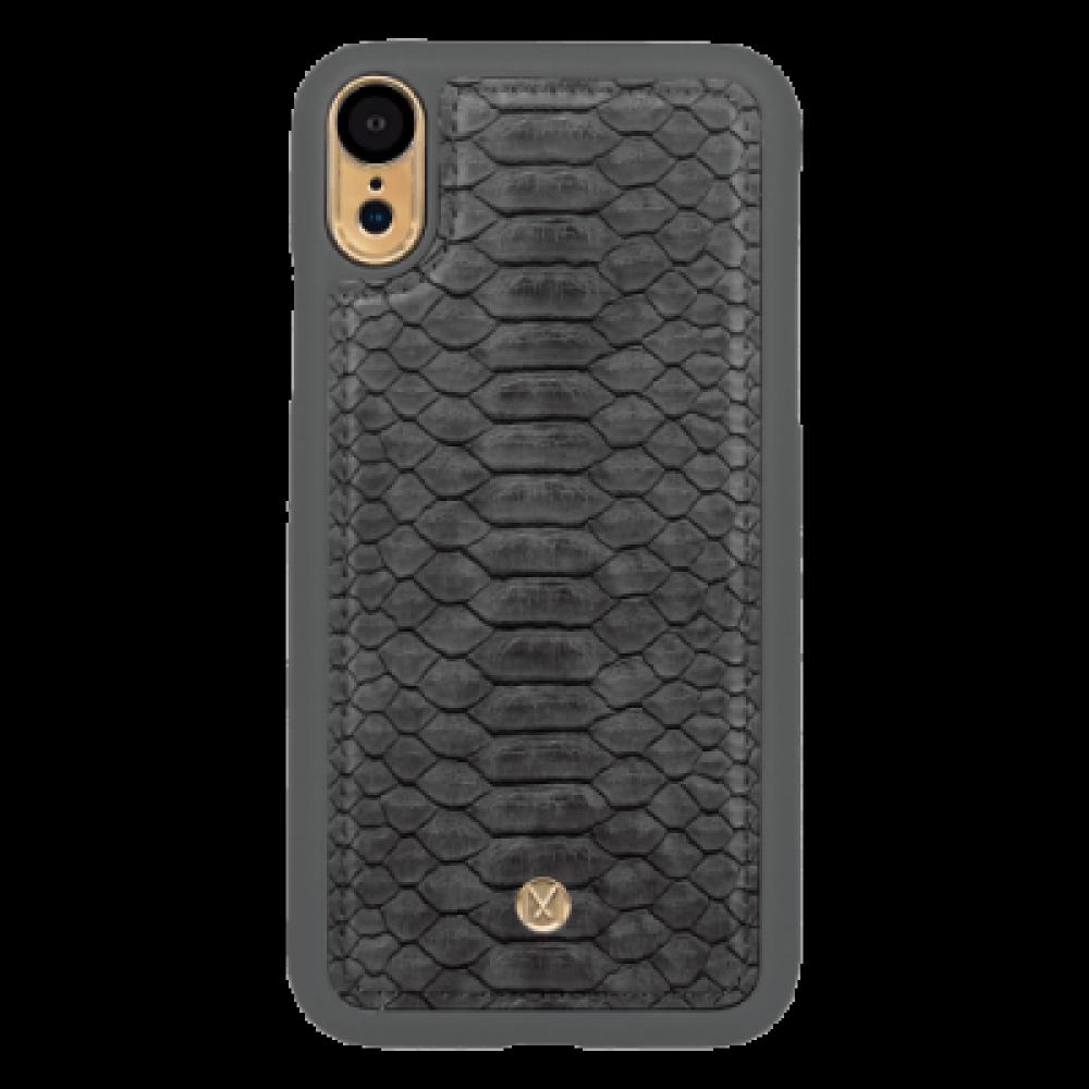 مارفيل - جراب حماية ميغناطيسي رصاصي - iphone XR