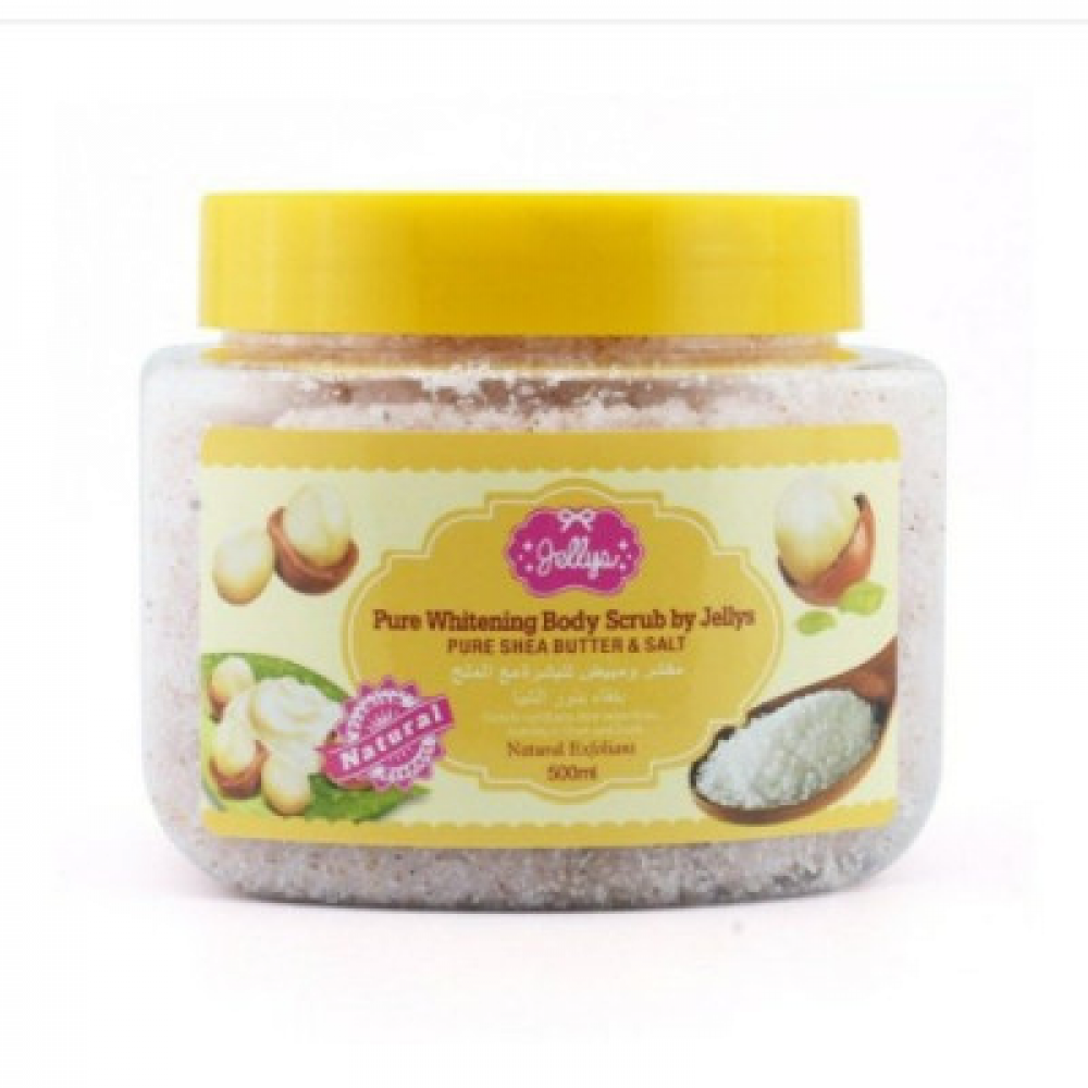 جيليز - مقشر البشره مع الملح بنقاء بذور الشيا  - 500 مل