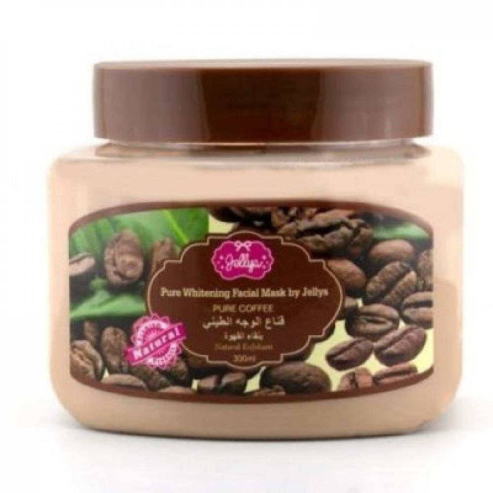 جيليز - قناع الوجه الطيني بالقهوة  - 300 مل