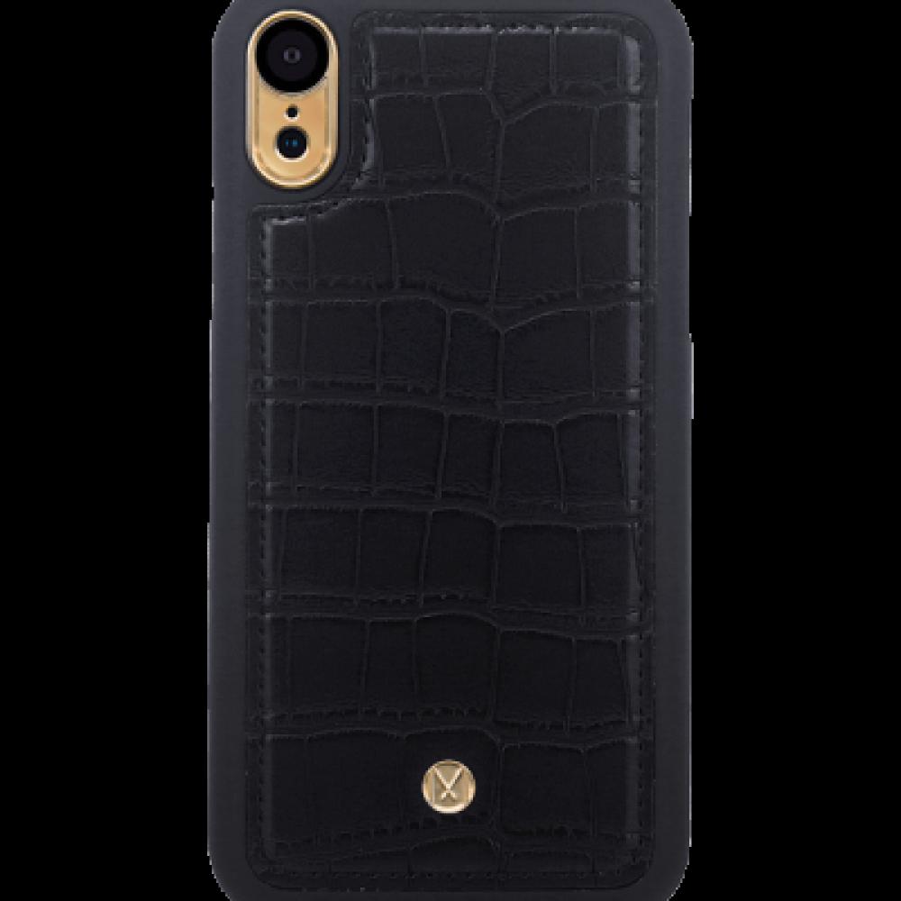 مارفيل - جراب حماية ميغناطيسي اسود - iphone XR
