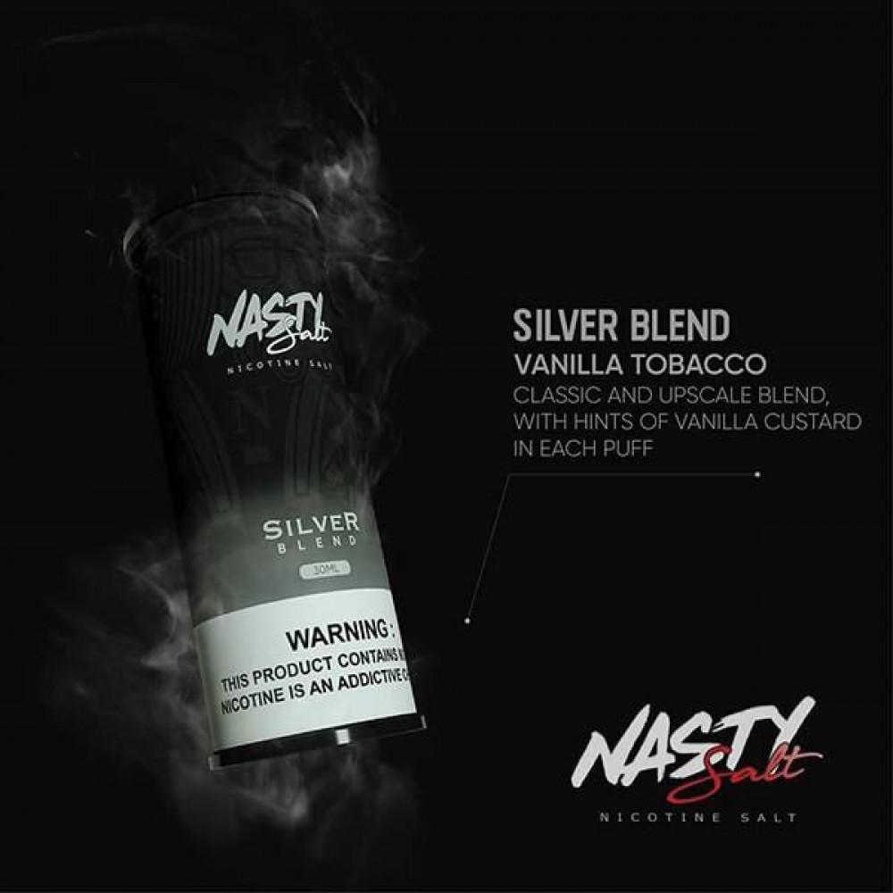 SILVER BLEND - NASTY SALT  SaltNic