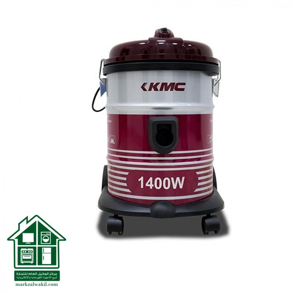 kmv1801 كي ام سي مكنسة كهربائية 1400 واط   18 لتر   احمر