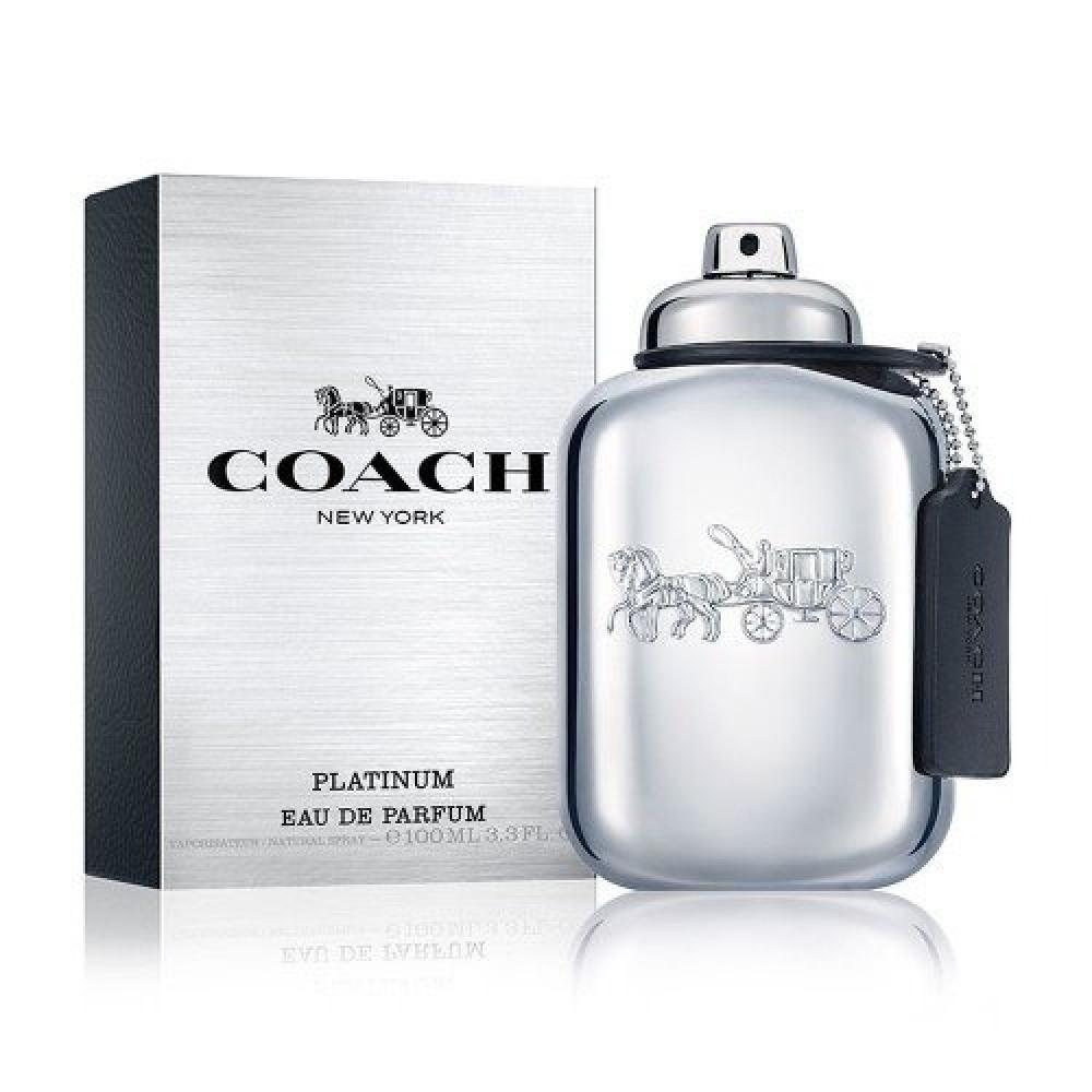 Coach New York Platinum for Men Eau de Parfum 100ml خبير العطور