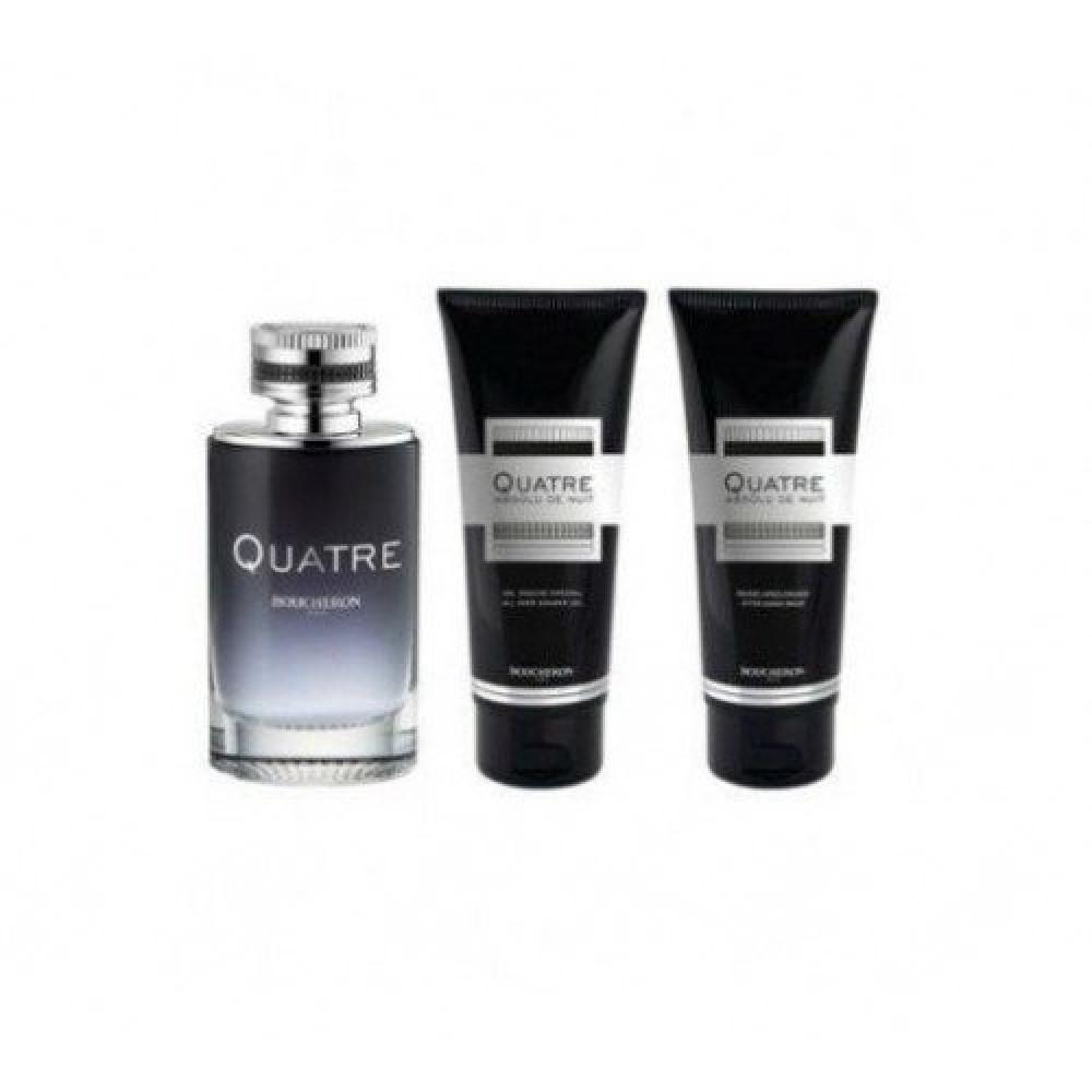 Boucheron Quatre Absolu de Nuit for Men Eau de Parfum 100ml 3 Gift Set