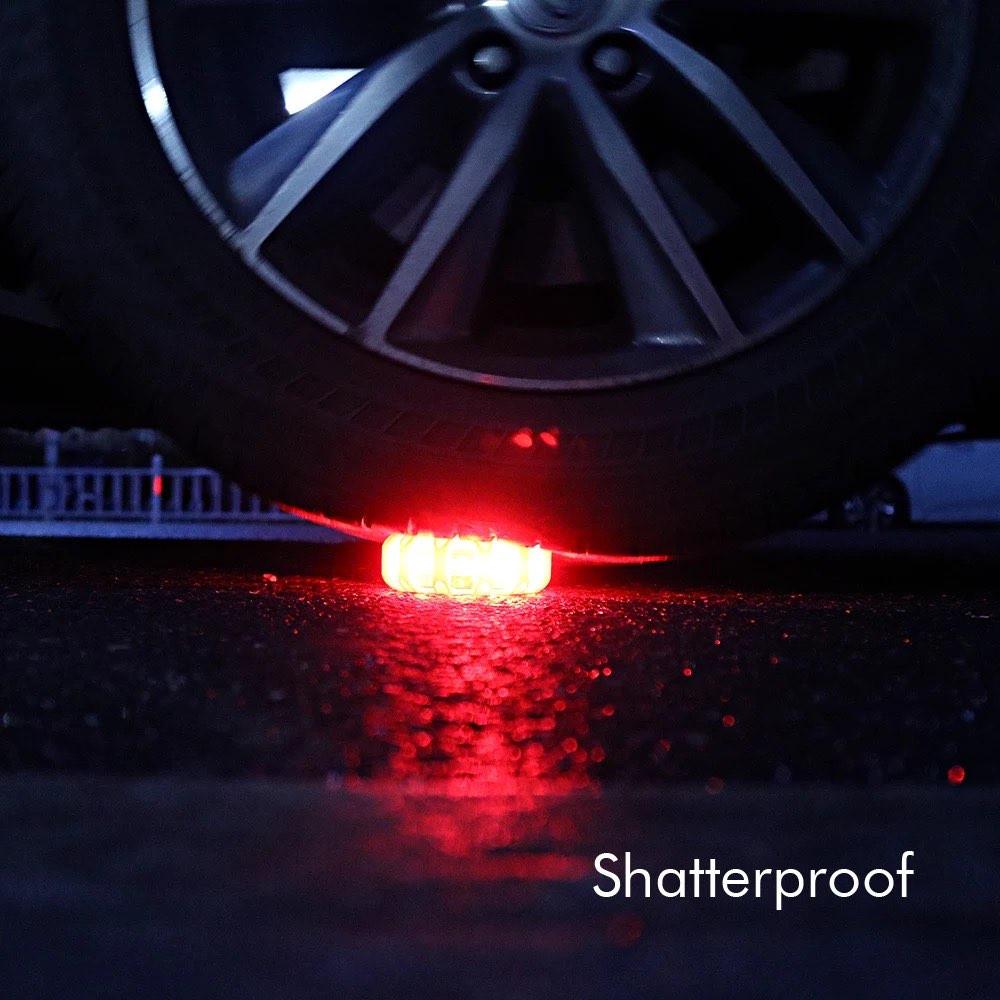 أضواء تحذير المرور
