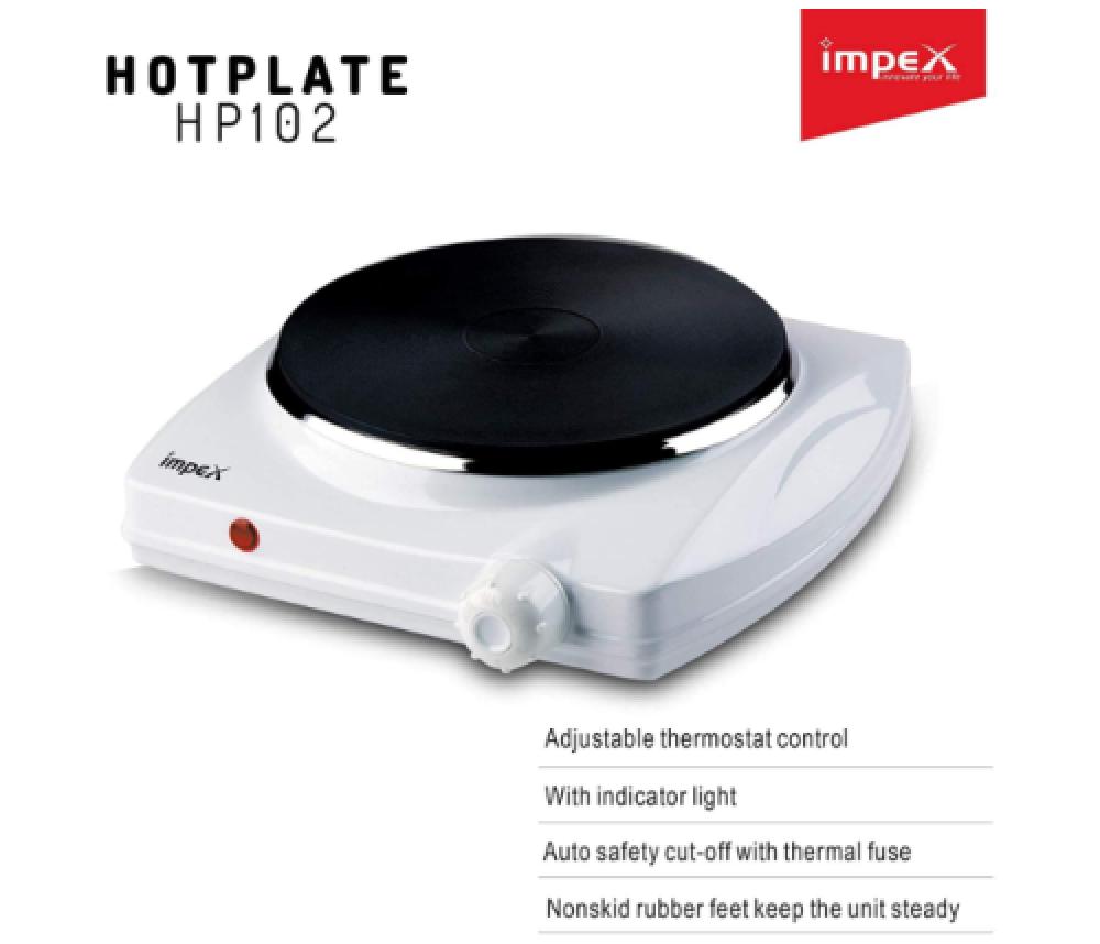 سخان حجر امبكس 1 عين Impex Electric Hot Plate Single HP 102