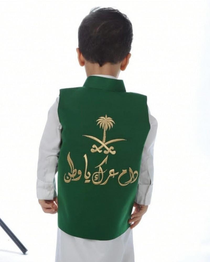 تطريز سديري العيد الوطني - متجر راقية