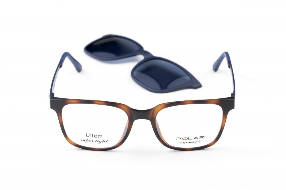 نظارة طبية مع عدسه