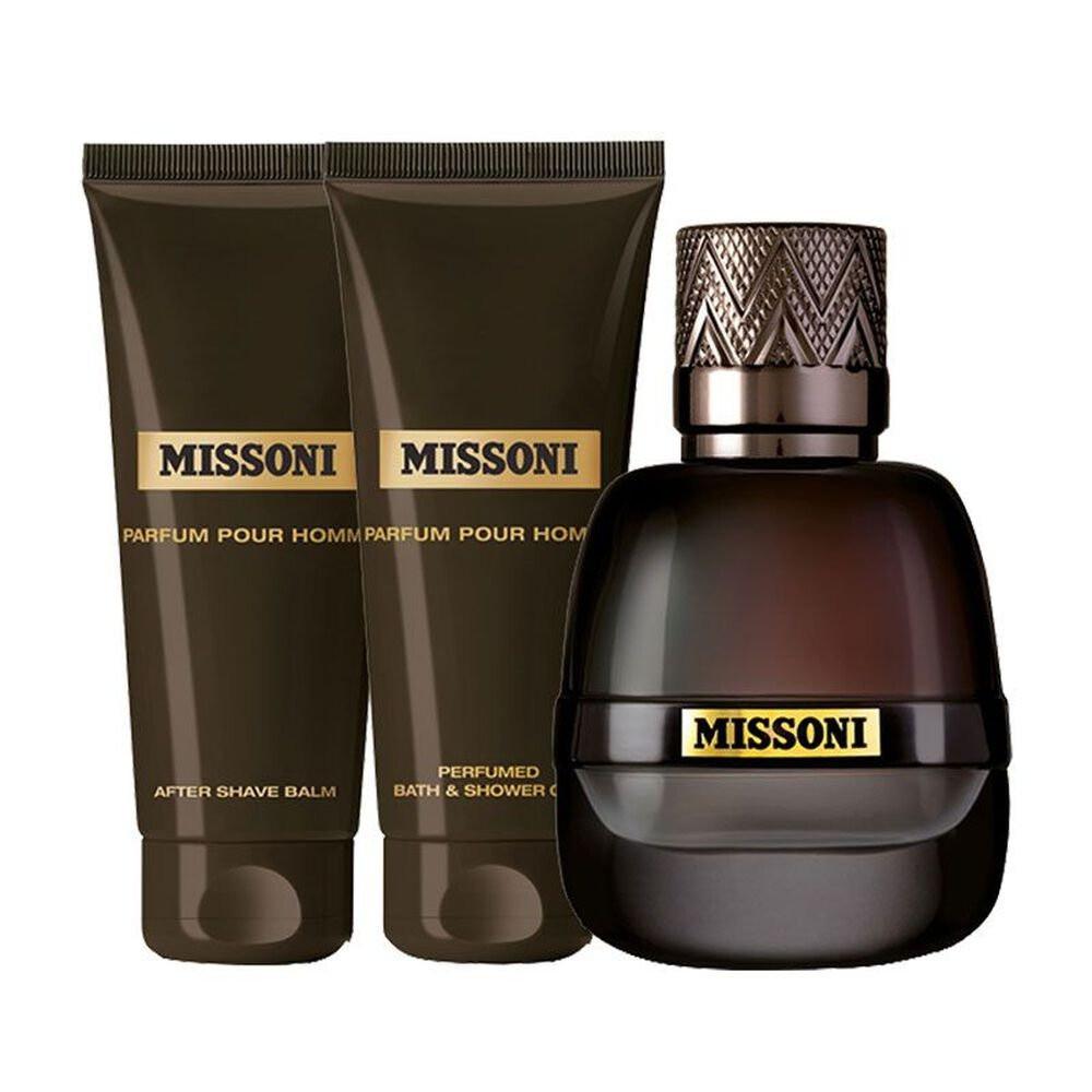 Missoni Parfum Pour Homme Parfum 50ml 3 Gift Set متجر خبير العطور