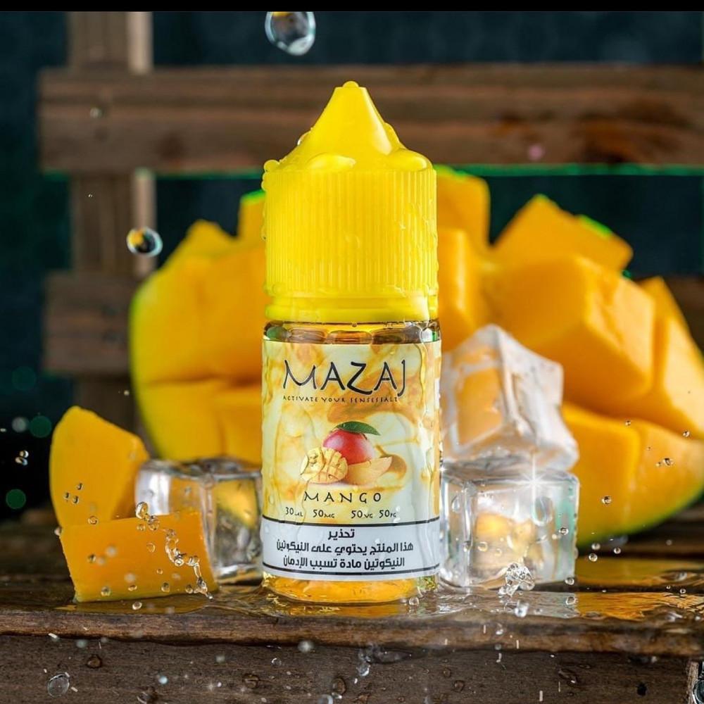 نكهة مزاج مانجو سولت نيكوتين MAZAJ MANGO Salt - فيب كلوب نكهات مانجو