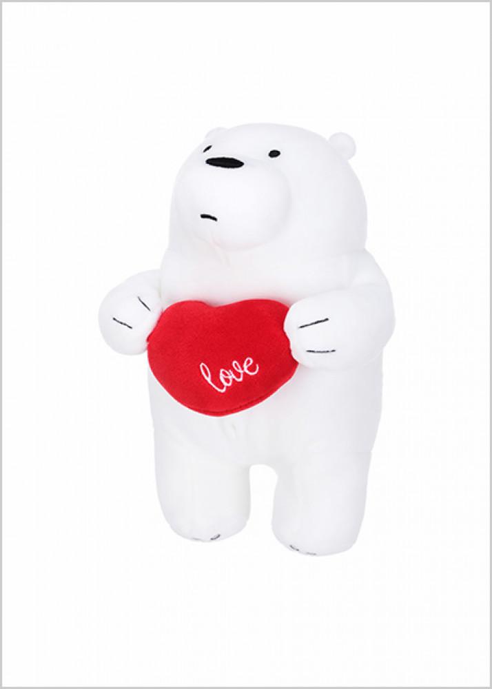 دمية الدب القطبي من الدببة الثلاثة We Bare Bear ميني سو Miniso حب الحياة حب ميني سو تسوق واحصل علي افضل الاسعار