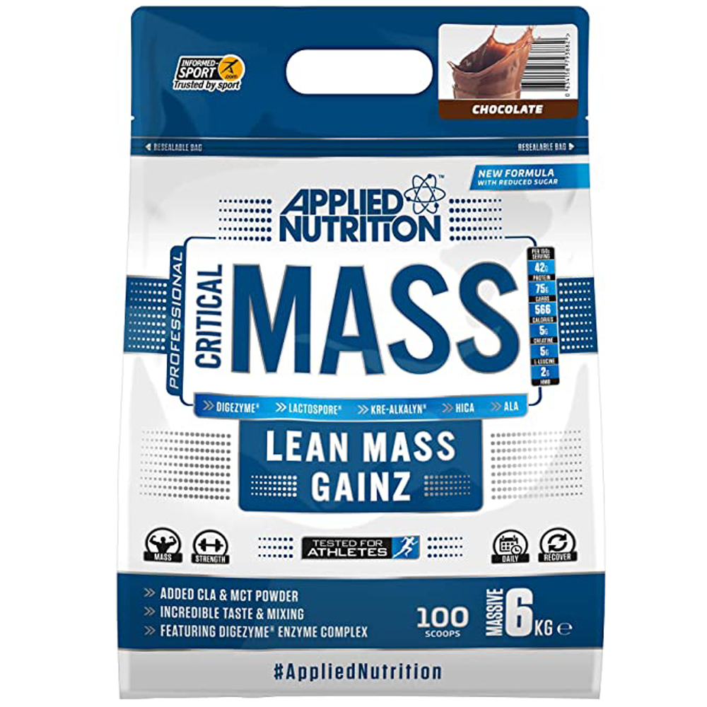كريتيكال ماس ابلايد نيوتريشن 6 كج Critical Mass Applied Nutrition قلعة المكملات للمكملات الغذائية Supplements Castle Health Supplement