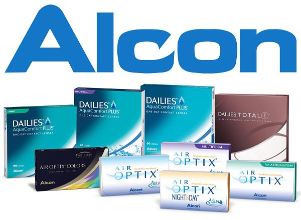 عدسات ألكون Alcon Contact lenses