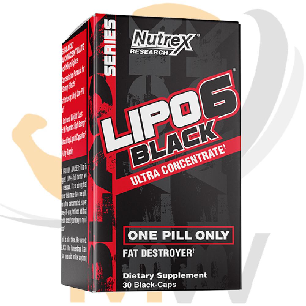 عالم العضلات muscles world مكملات غذائية حوارق دهون lipo 6 black