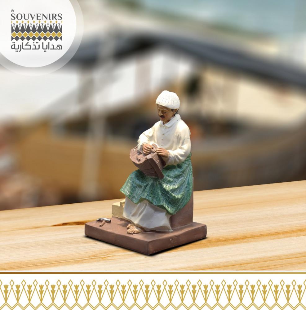 مجسم صانع القوارب القلاف