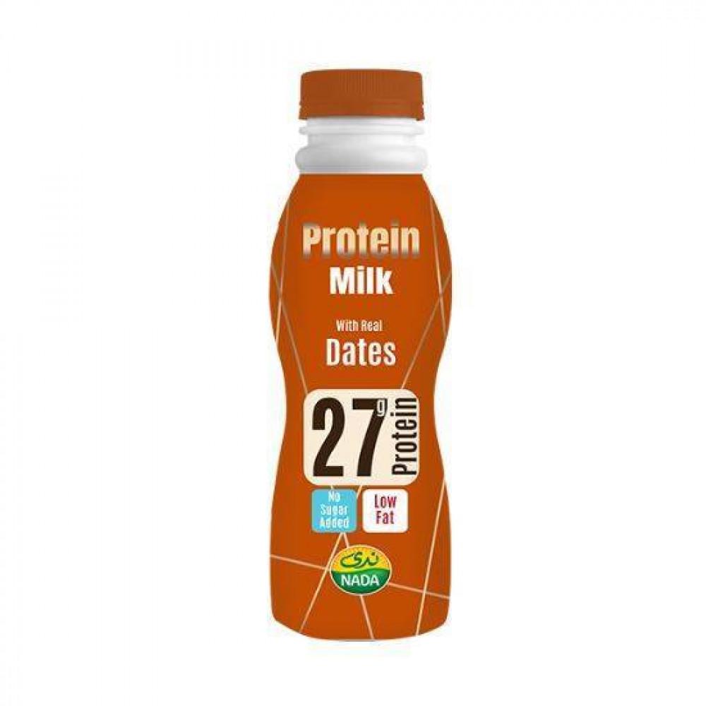 ندى حليب البروتين مع التمر 320 ملي ثمار اليقطين